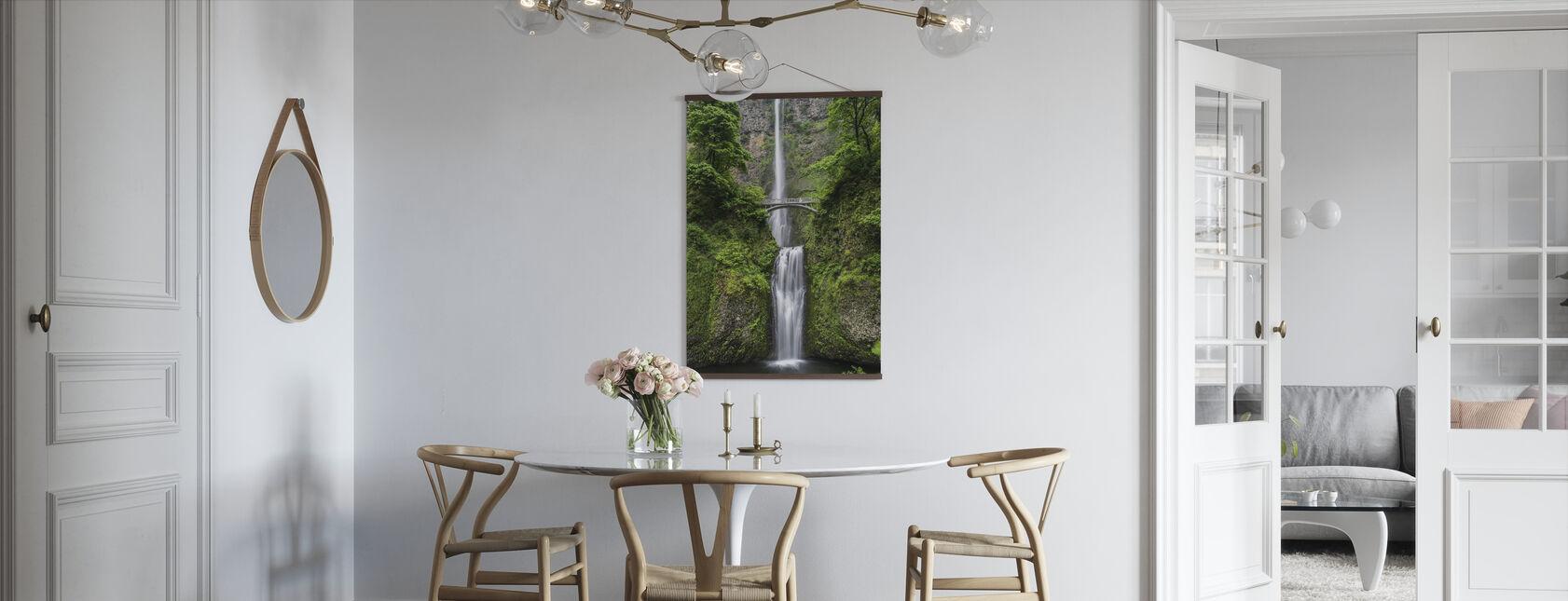 Bridge and Waterfall - Poster - Kitchen