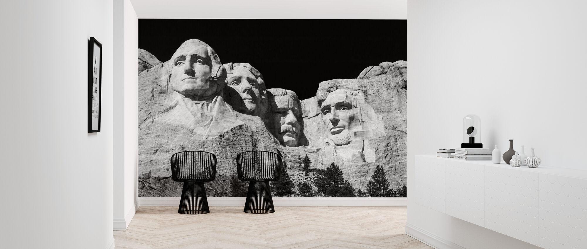 Mount Rushmore - Wallpaper - Hallway