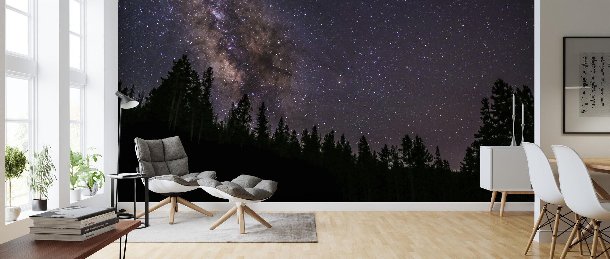 Milky Way - Wallpaper - Living Room