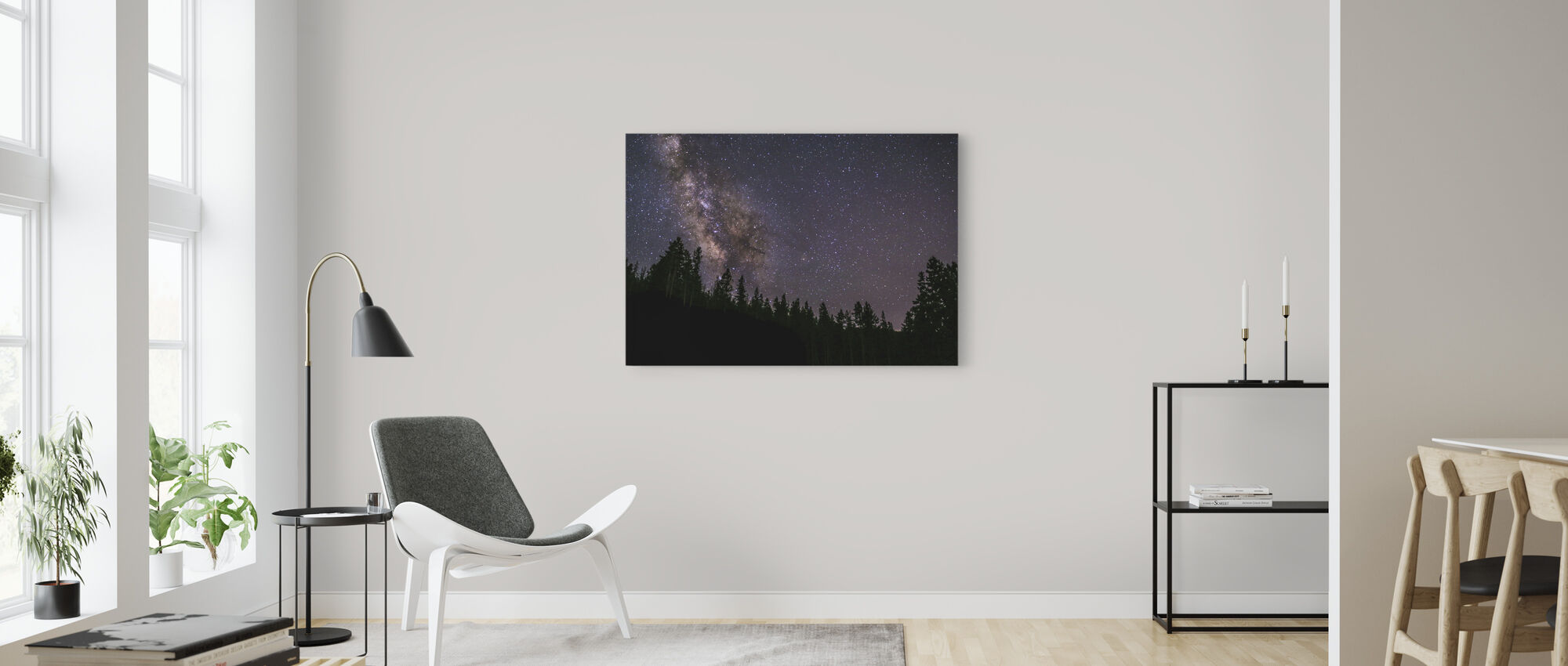Milky Way - Canvas print - Living Room