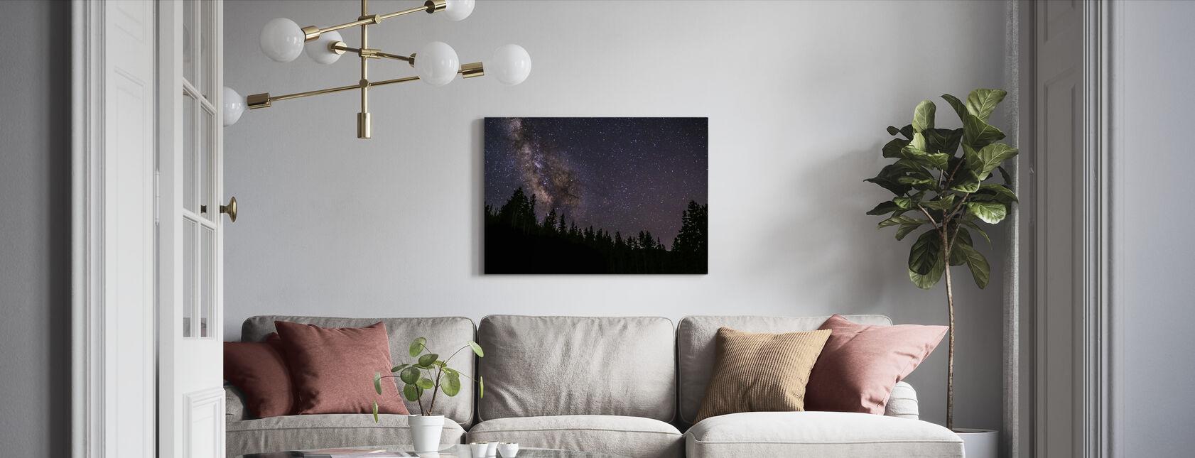 Milchstraße - Leinwandbild - Wohnzimmer