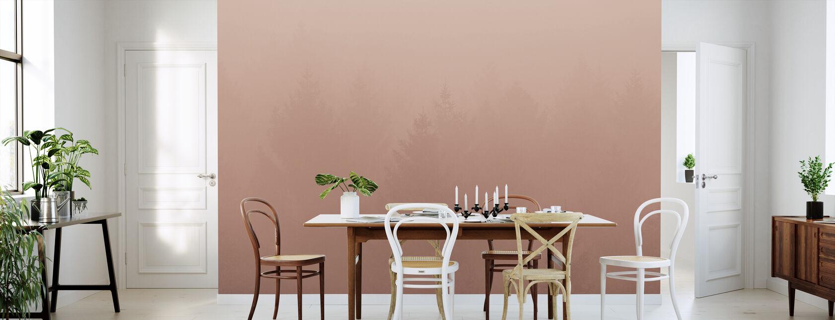 Forest Fog - Wallpaper - Kitchen