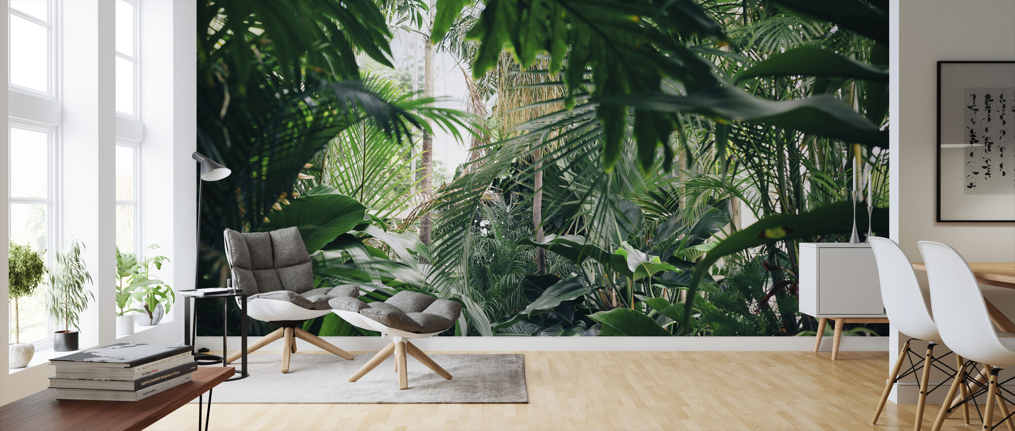 Jungle Plants - Wallpaper - Living Room
