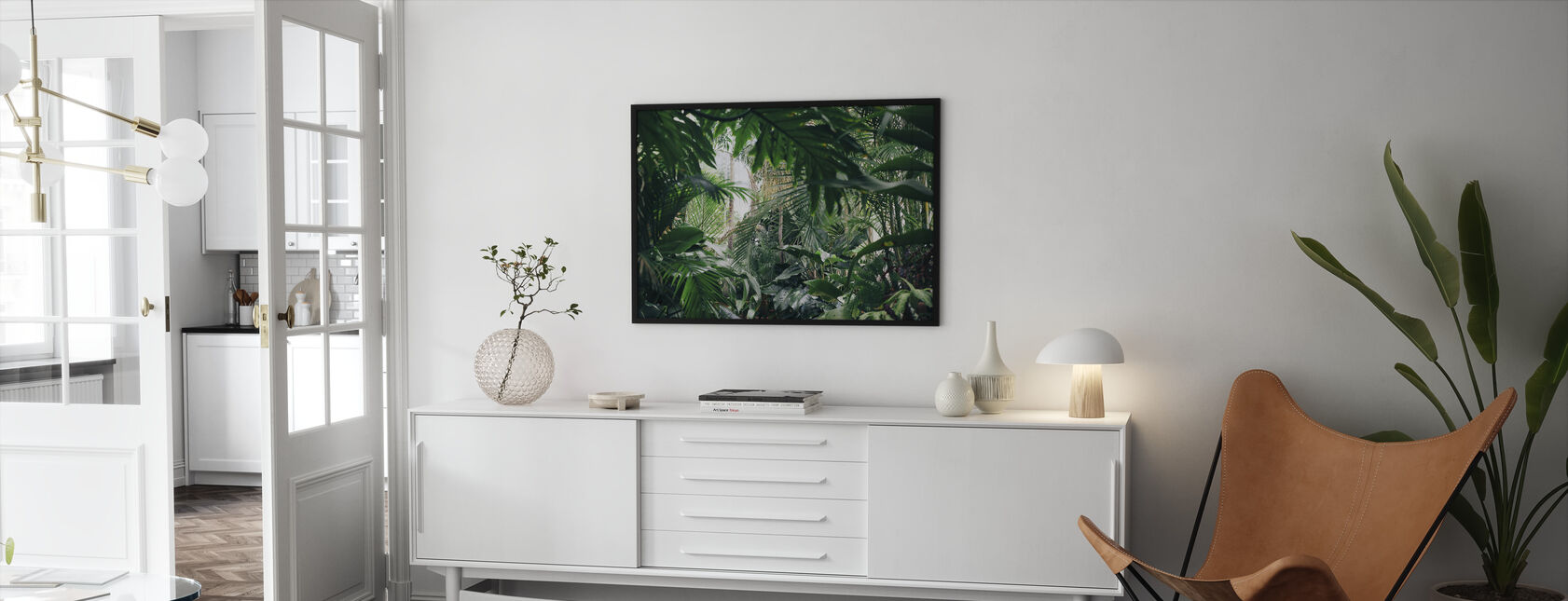 Jungle Plants - Framed print - Living Room
