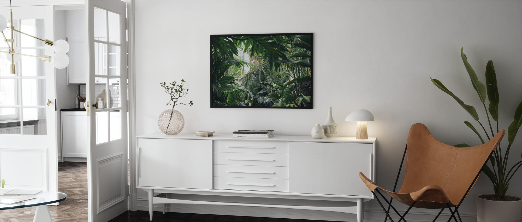 Jungle Plants - Framed print - Living Room