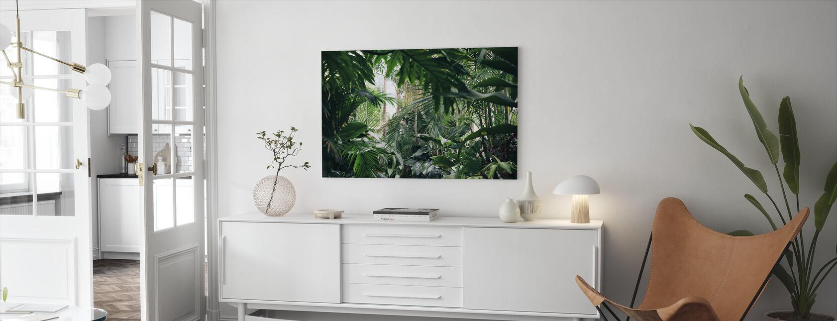 Jungle Plants - Canvas print - Living Room