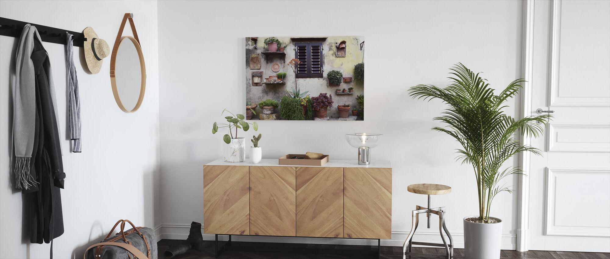 Backyard Flower Collection - Canvas print - Hallway