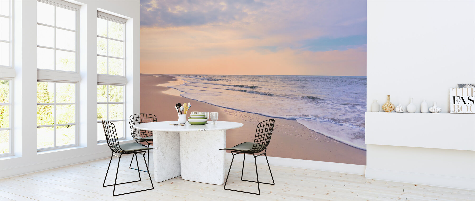 Beach at Dawn - Wallpaper - Kitchen