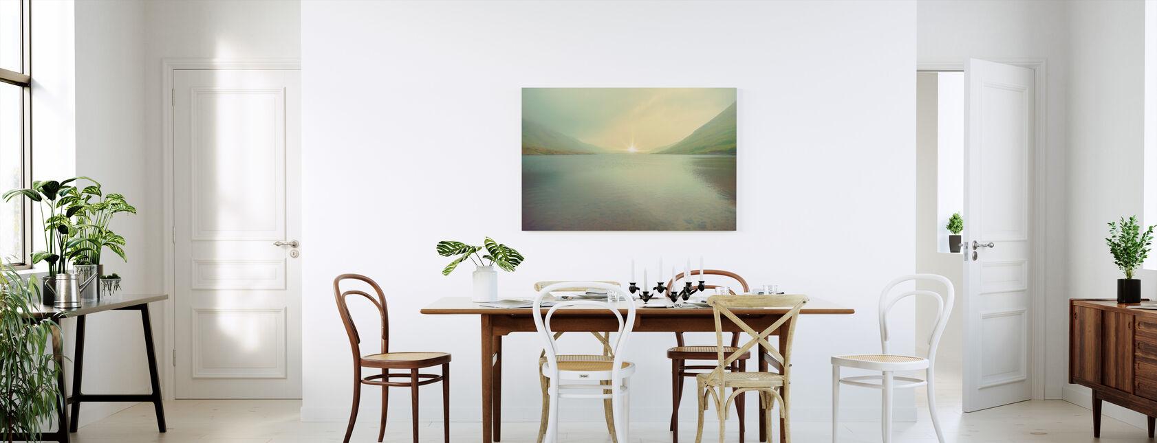 Iriscent Sunrise - Canvastaulu - Keittiö