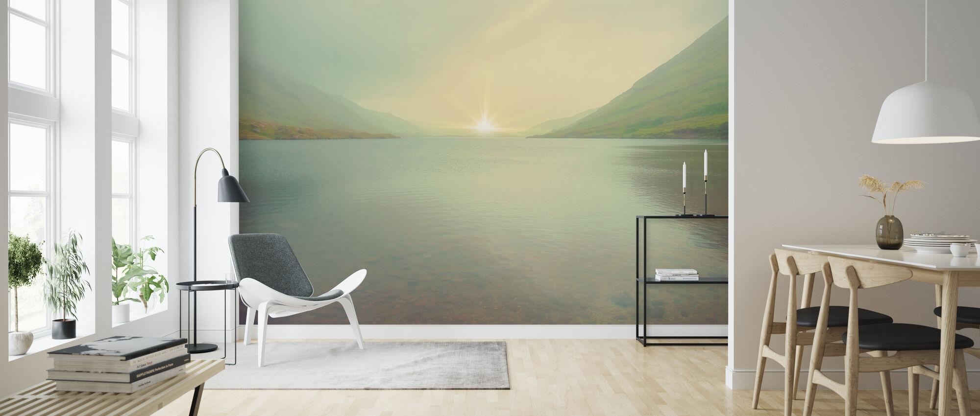 Iridescent Sunrise - Wallpaper - Living Room
