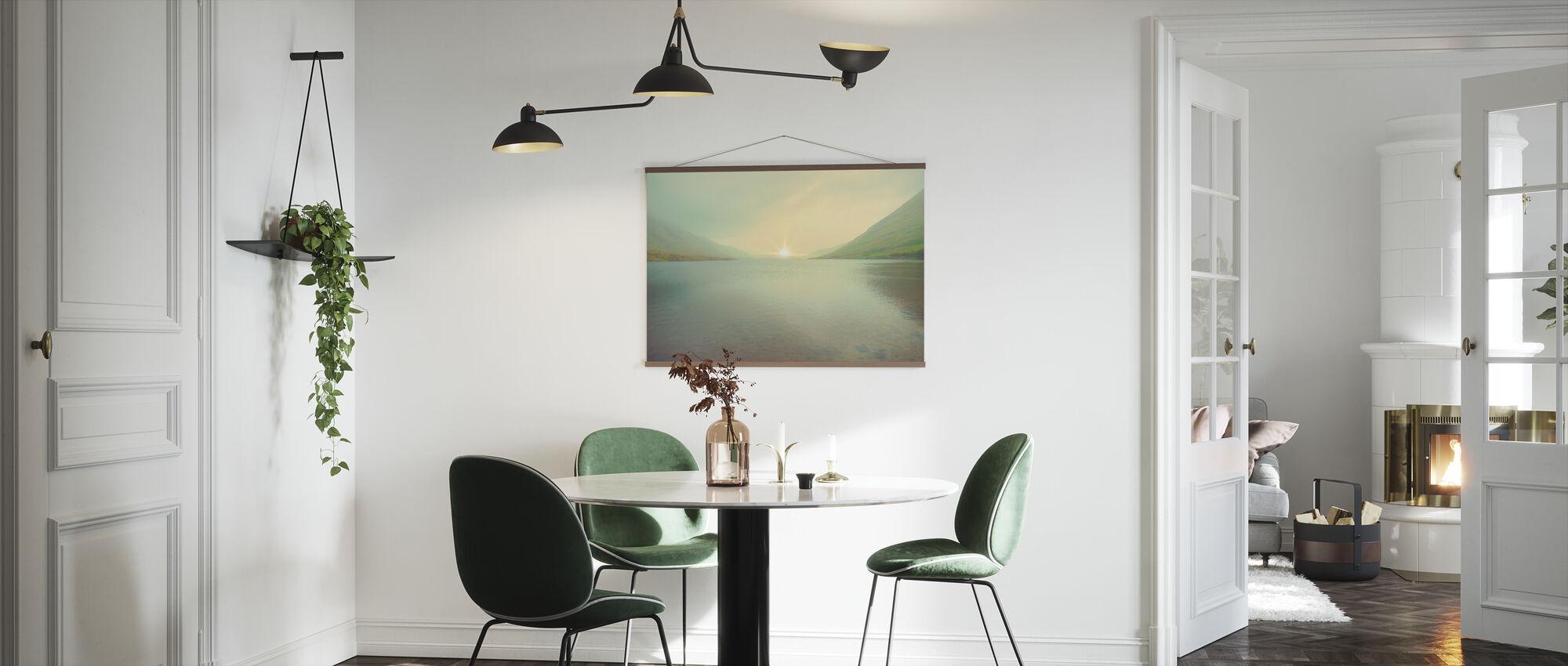 Iridescent Sunrise - Poster - Kitchen