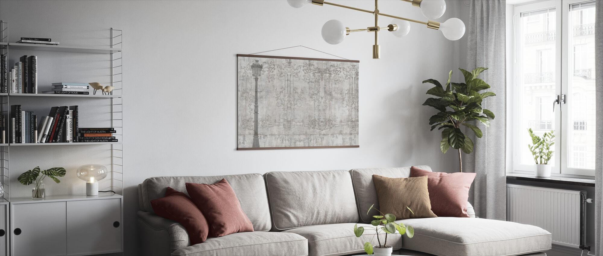 Reminiscence Series Lightpost - Poster - Living Room