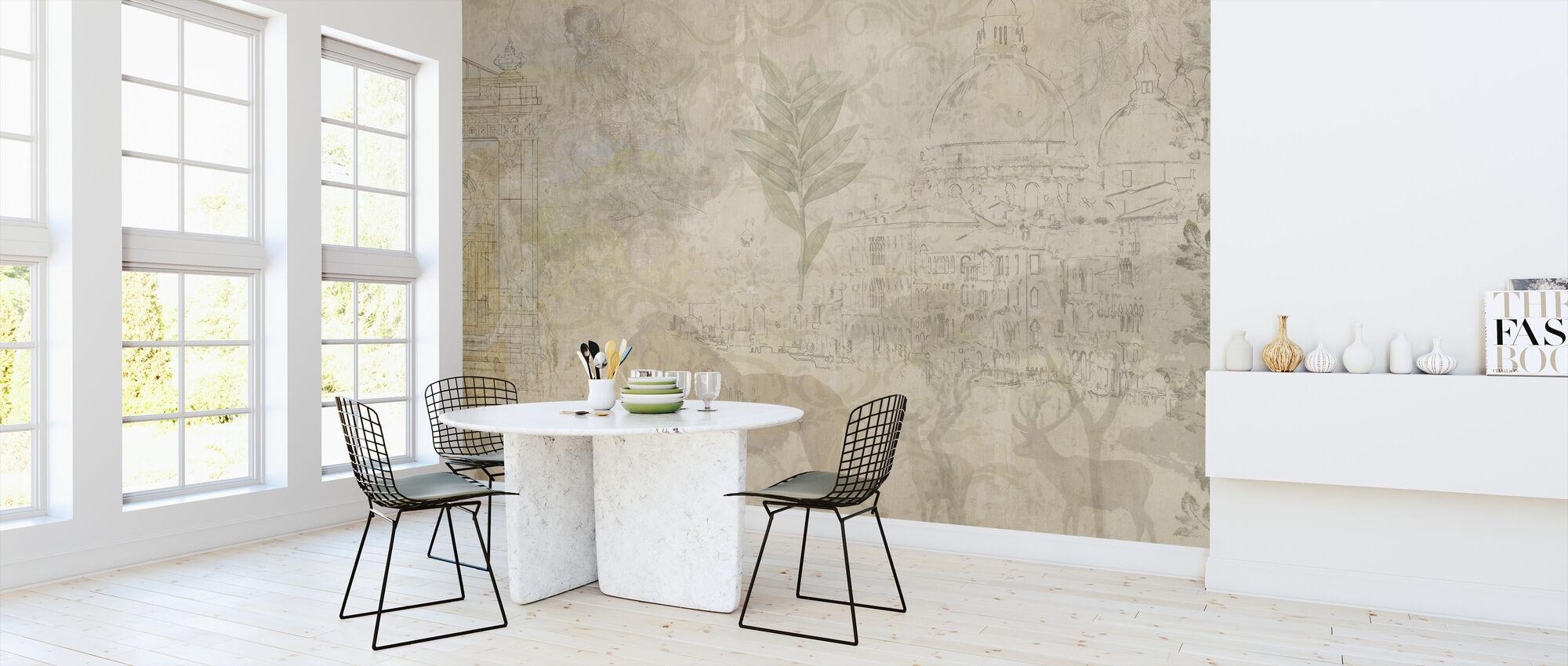 Reminiscence Series Safari - Wallpaper - Kitchen