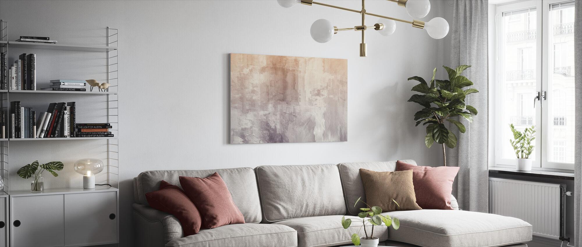 Rough Watercolors - Canvas print - Living Room