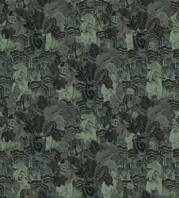 Kuva Emerald Moss Tapetit / tapetti 100 x 100 cm