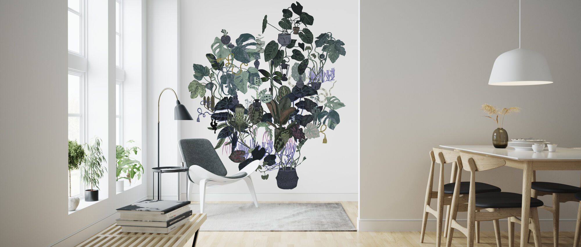 Tangled Tree - Wallpaper - Living Room