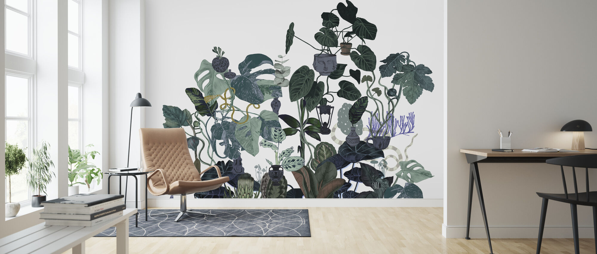 Tangled Tree II - Wallpaper - Living Room