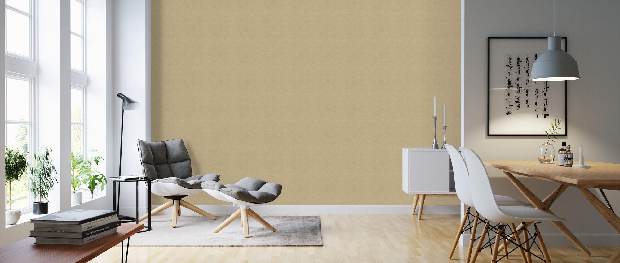 Kraftpapier II - Tapete - Wohnzimmer