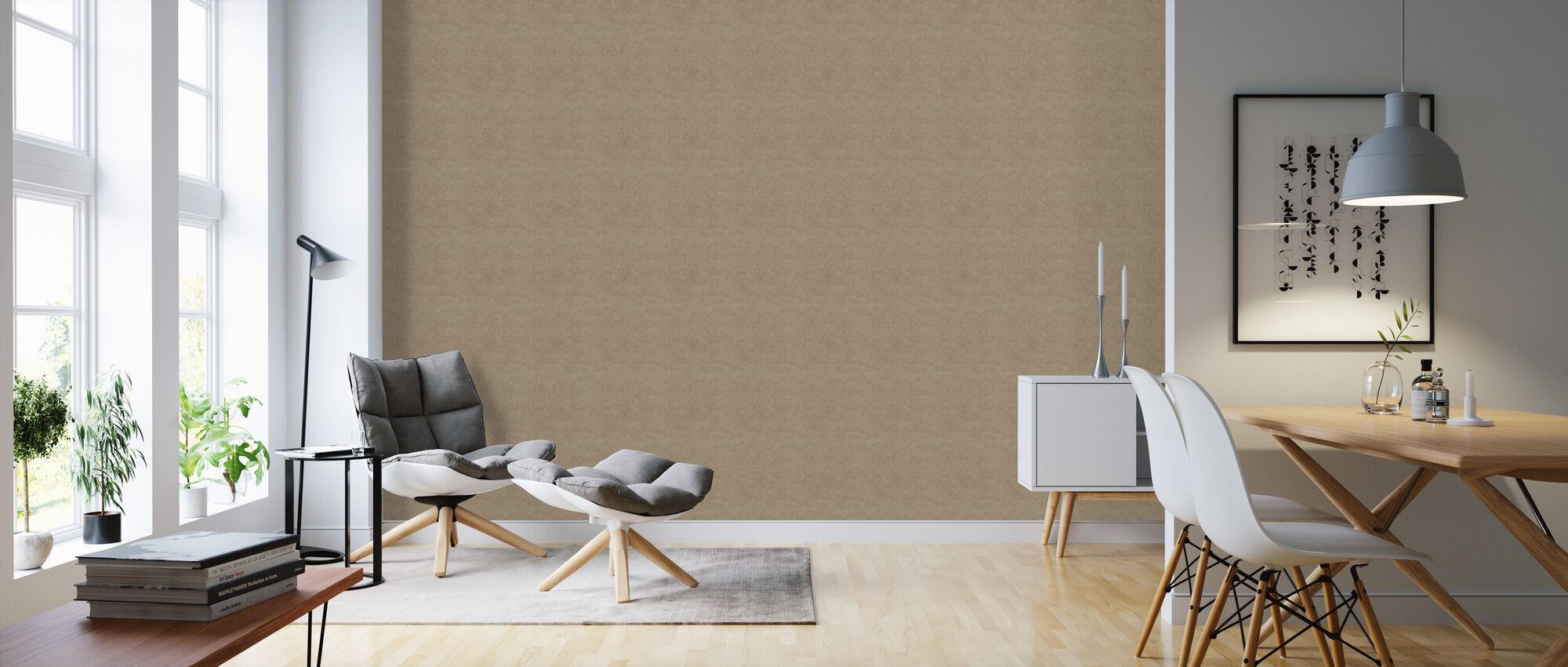 Kraft Paper IIII - Wallpaper - Living Room