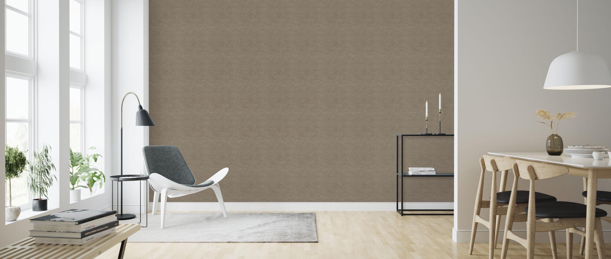 Kraft Paper - Wallpaper - Living Room