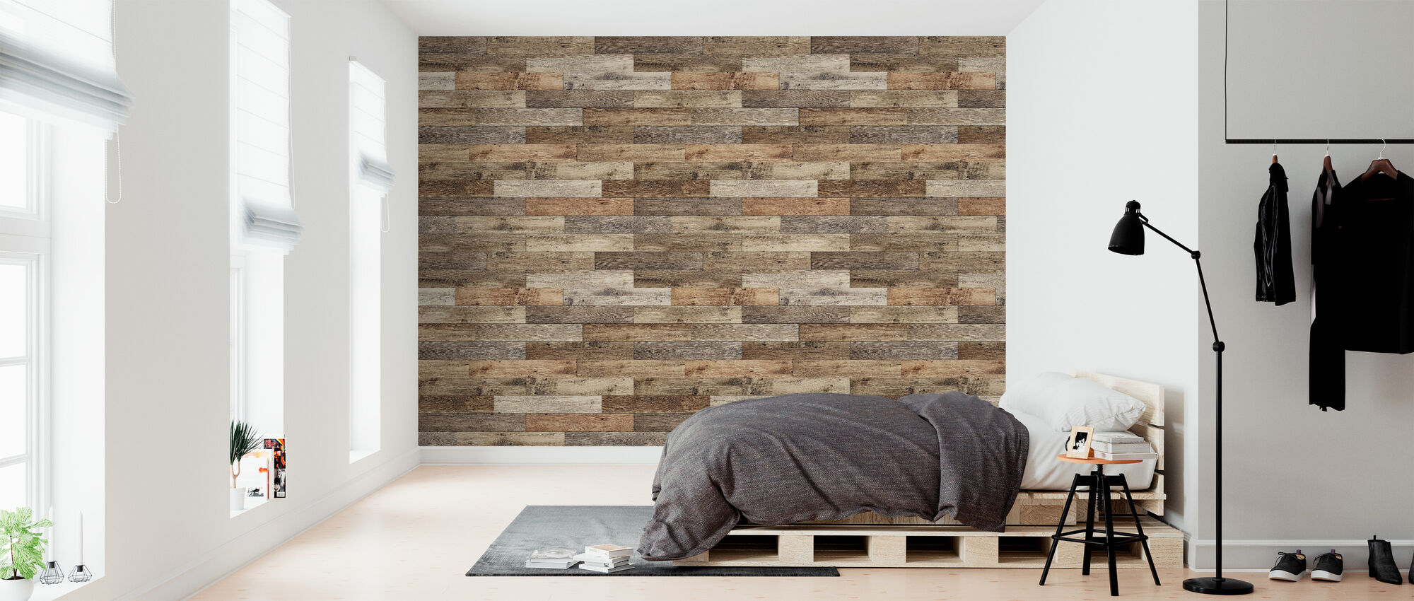 Rustic Joined Wood – Individuelle Tapeten höchster Qualität ...