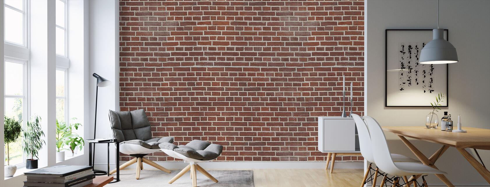 Brixton Brick Wall - Wallpaper - Living Room