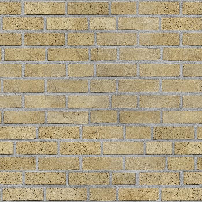 Light Yellow Brick Wall Modern Wallpaper Photowall