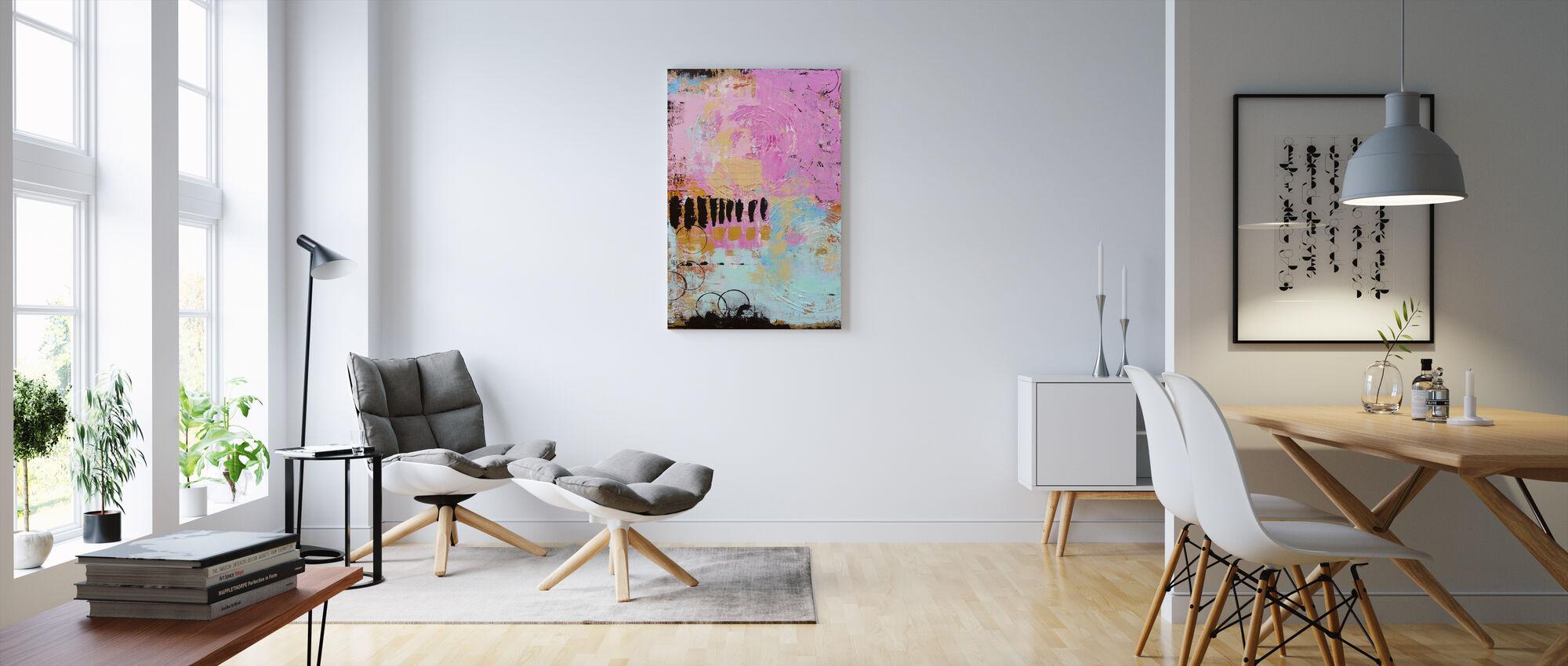 Abstract Cordero - Canvas print - Living Room