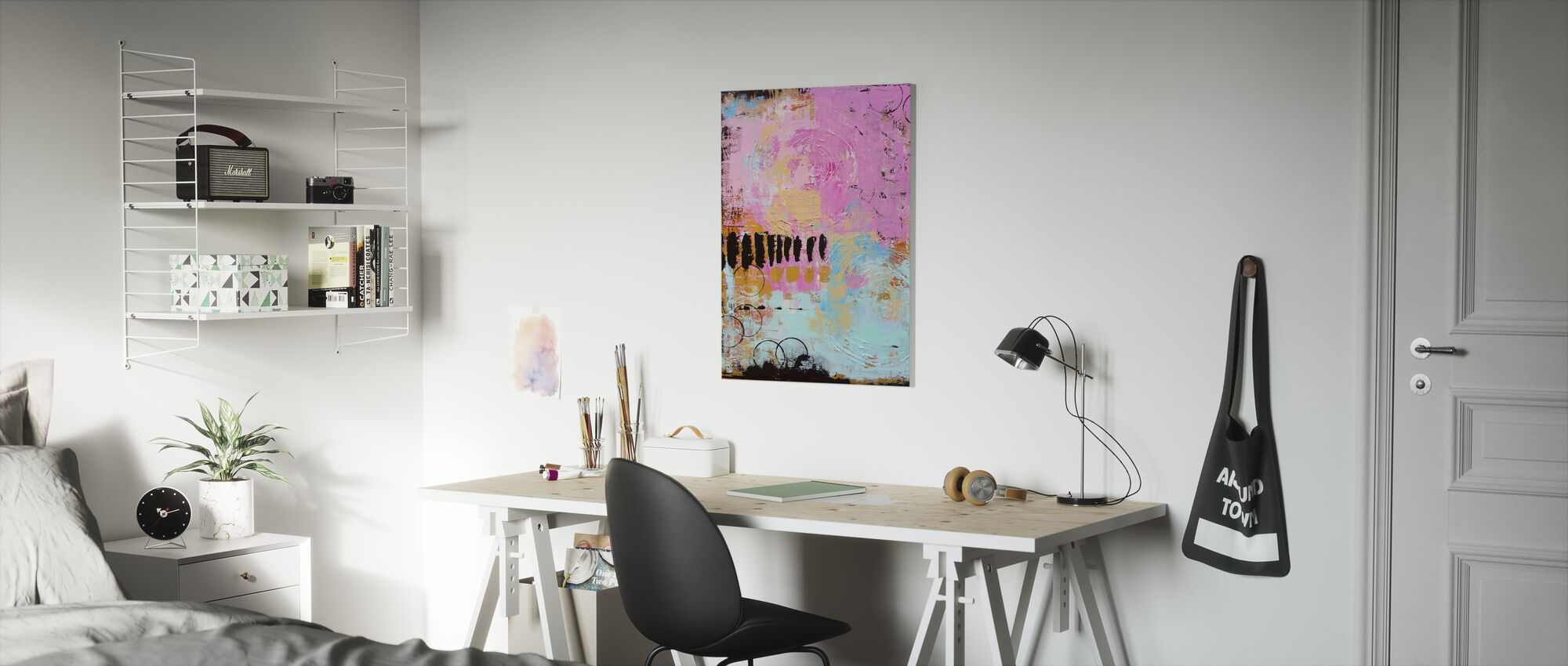 Abstract Cordero - Canvas print - Kids Room