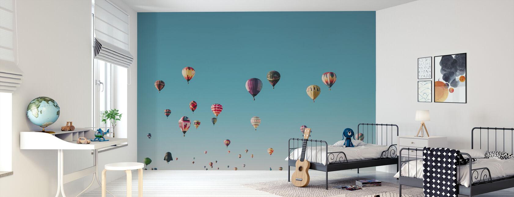 Hot Air Balloons - Wallpaper - Kids Room