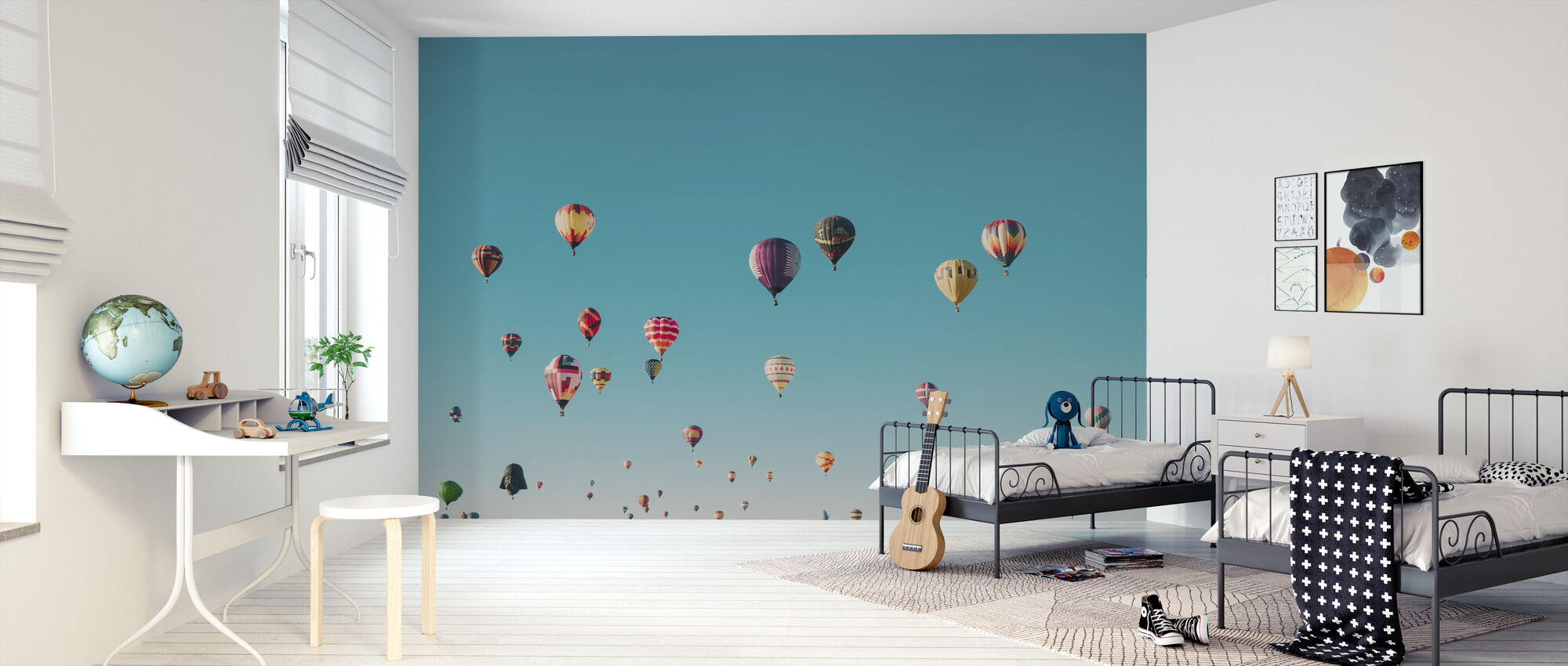 Hot Air Balloons - Wallpaper - Kids Room