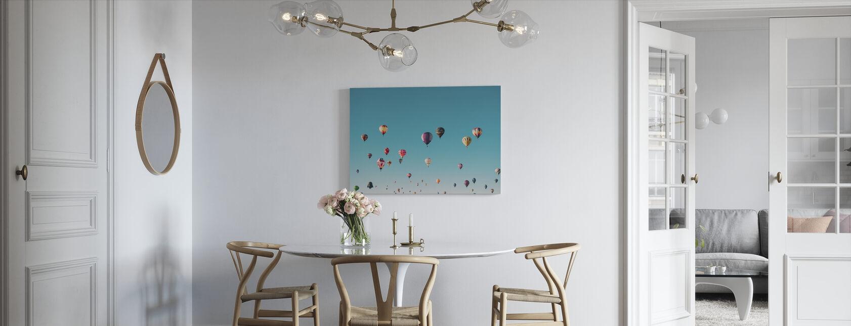 Hete Luchtballonnen - Canvas print - Keuken