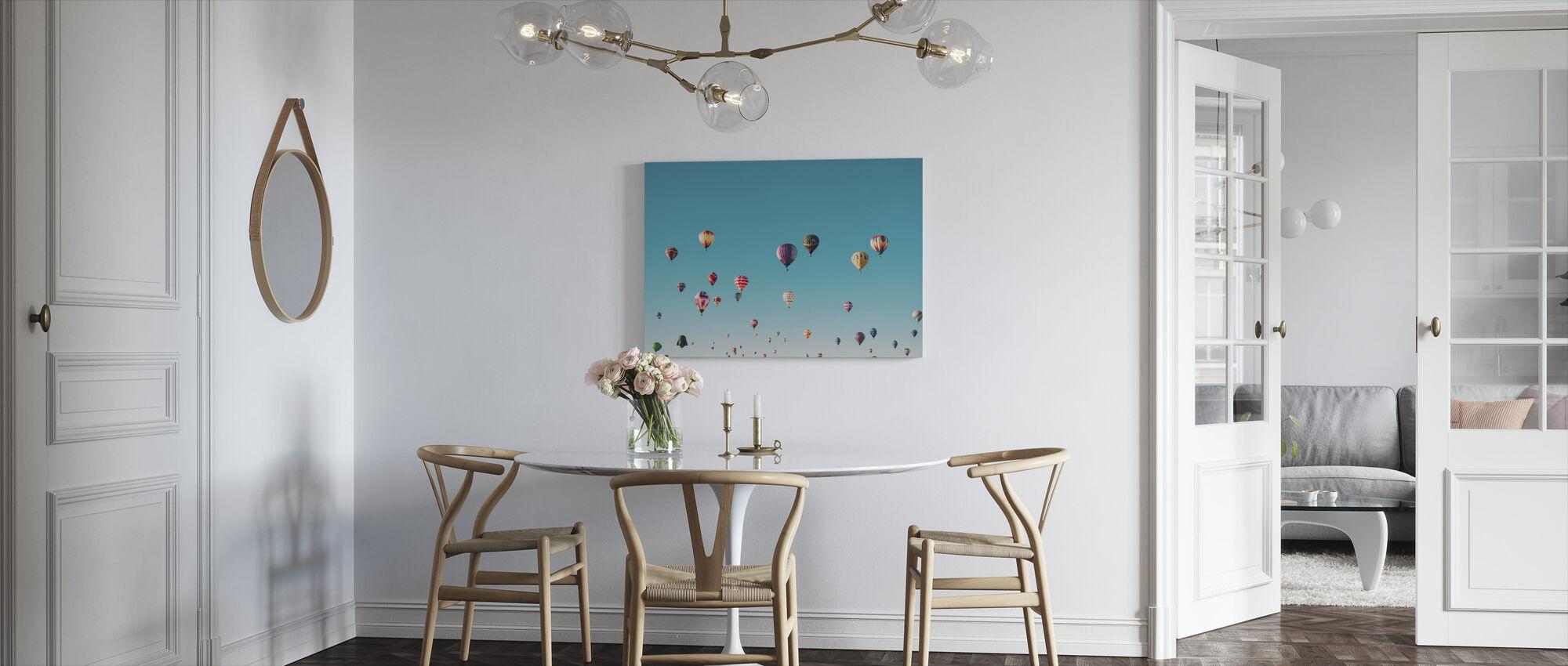 Hot Air Balloons - Canvas print - Kitchen