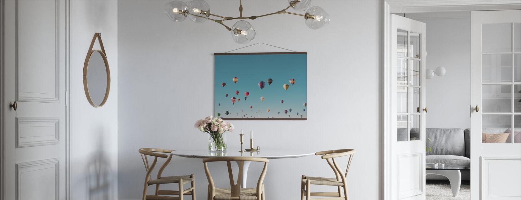 Hot Air Balloons - Poster - Kitchen