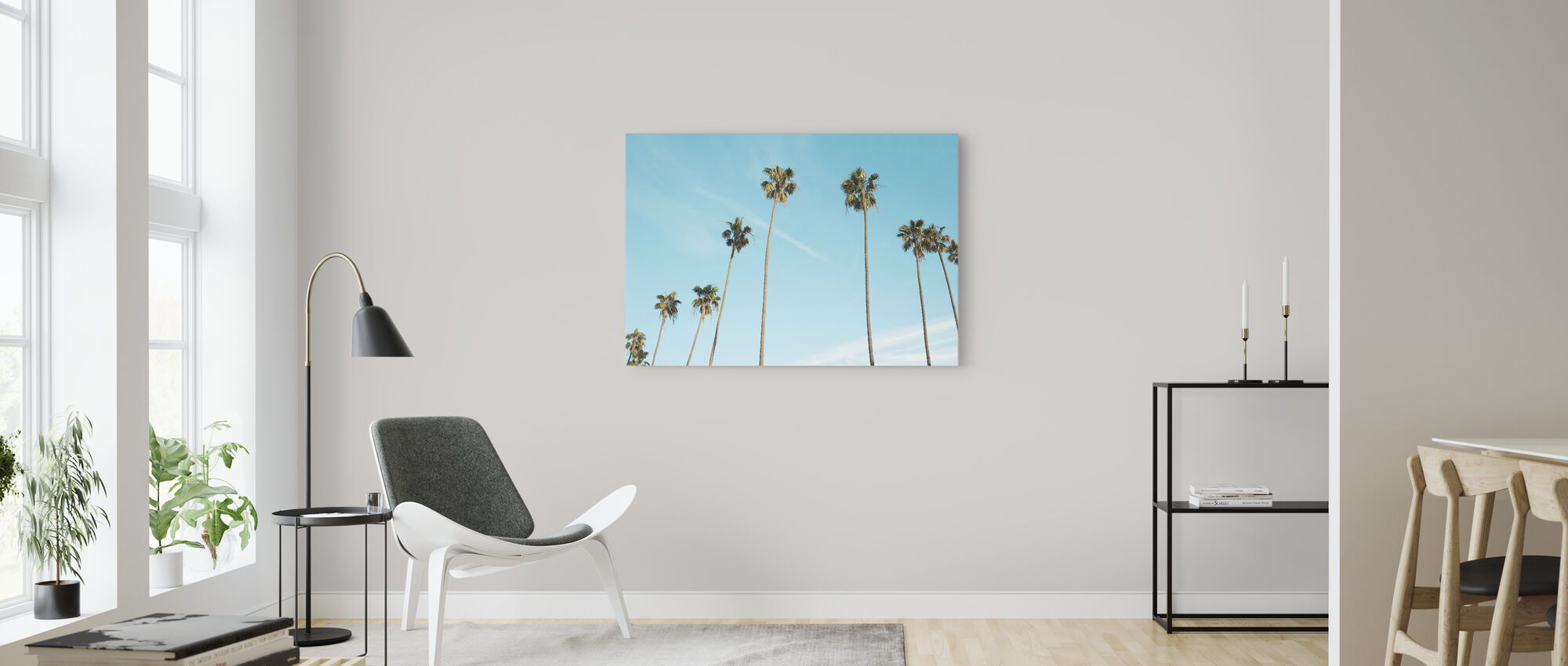Palmbomen - Canvas print - Woonkamer