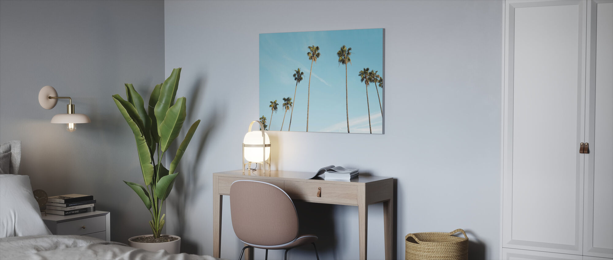 Palm Trees - Canvas print - Office
