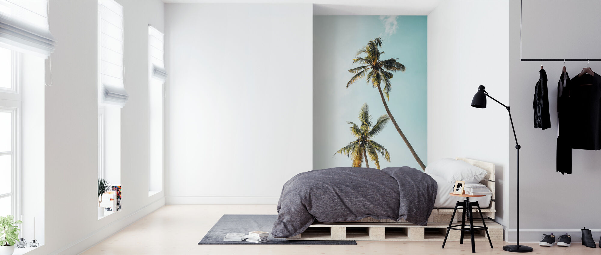 Coconut Palm Tree - Wallpaper - Bedroom