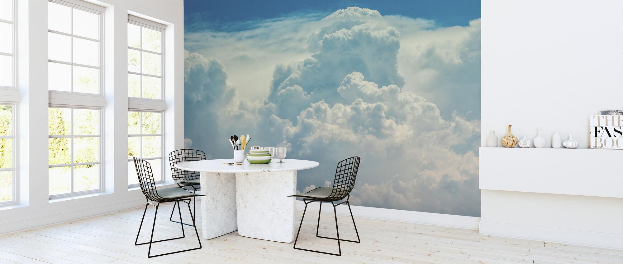 Cloudy Sky - Wallpaper - Kitchen