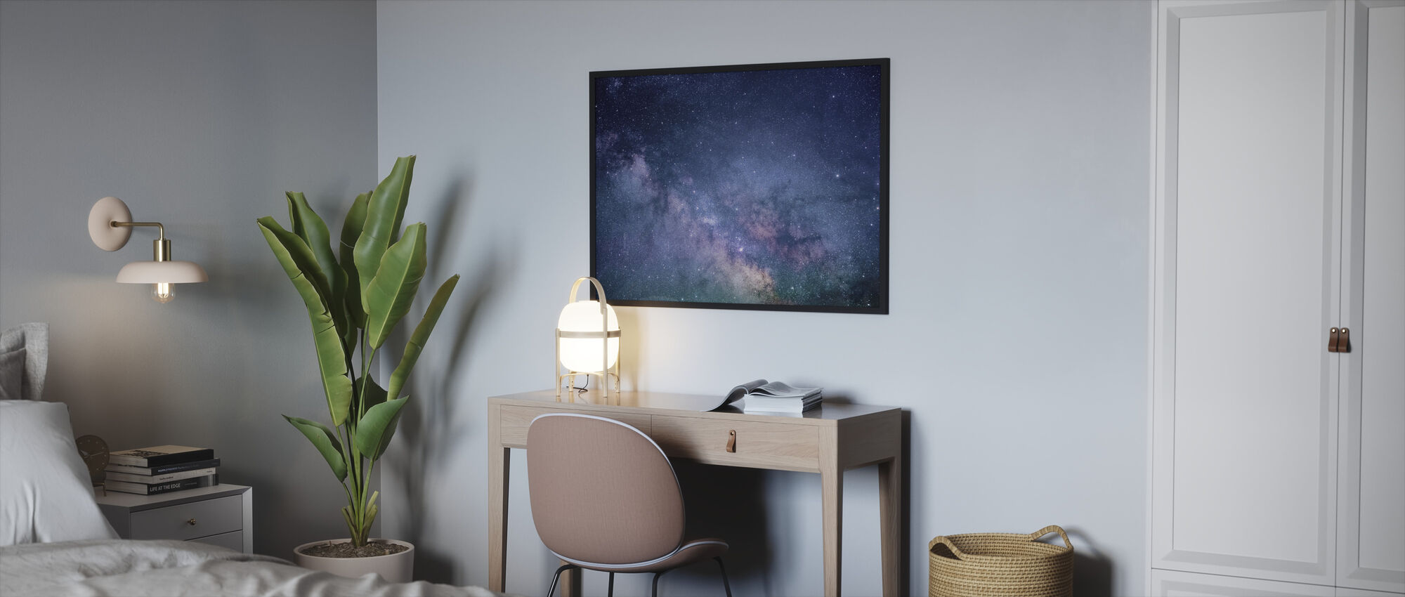 Galaxy Stars - Framed print - Bedroom