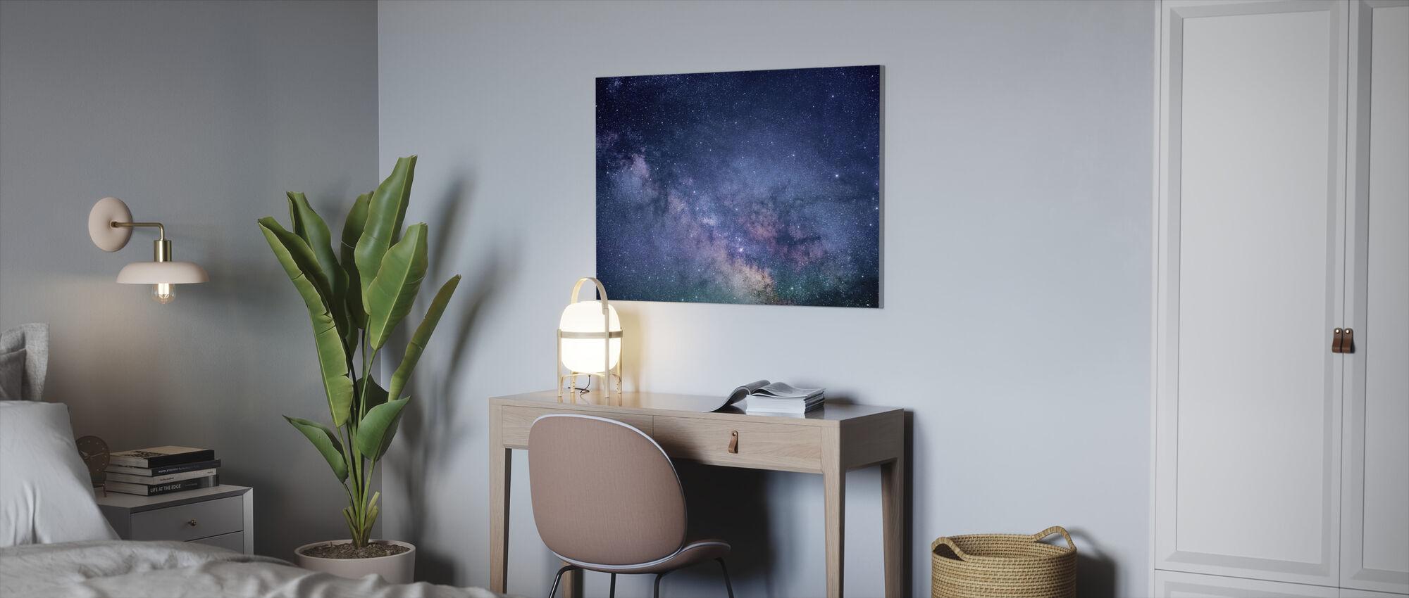 Galaxy Stars - Canvastaulu - Toimisto