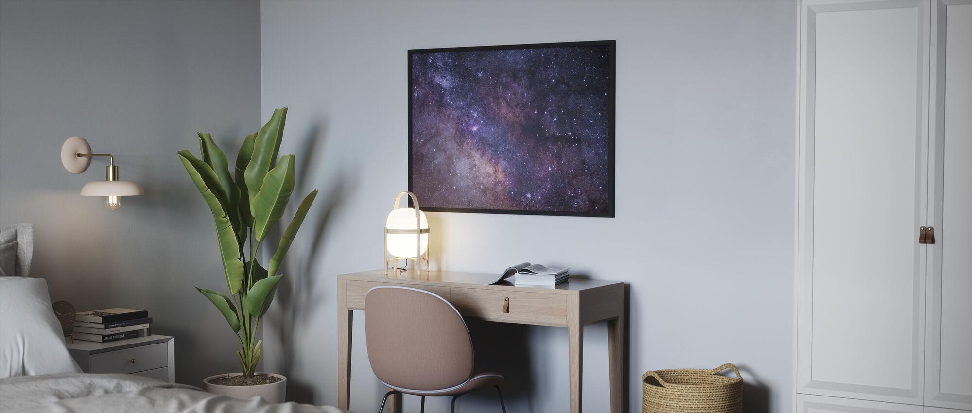 Galaxy - Framed print - Bedroom