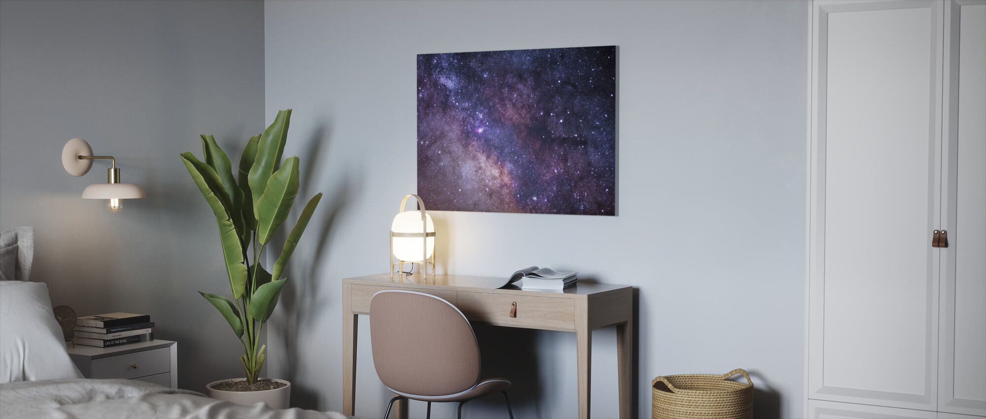 Galaxy - Canvas print - Office