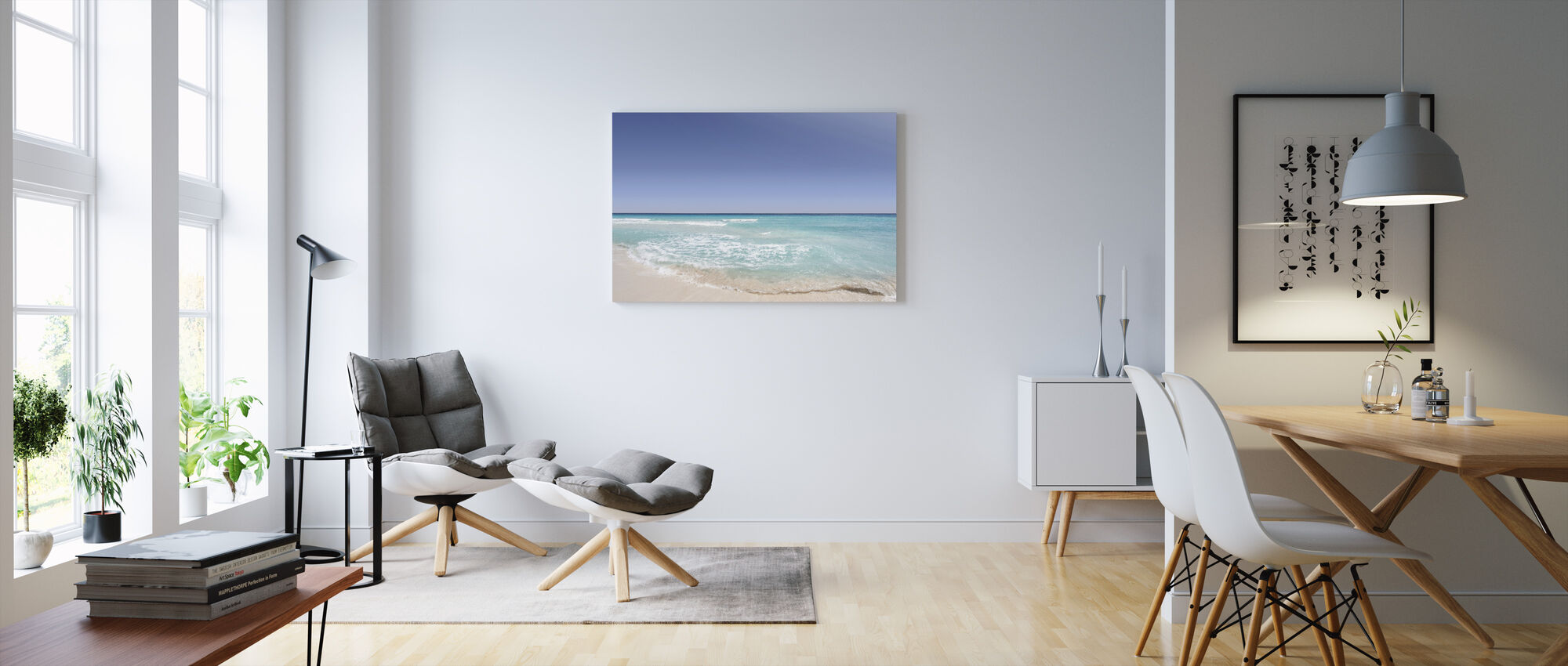 Beach Shore - Canvas print - Living Room