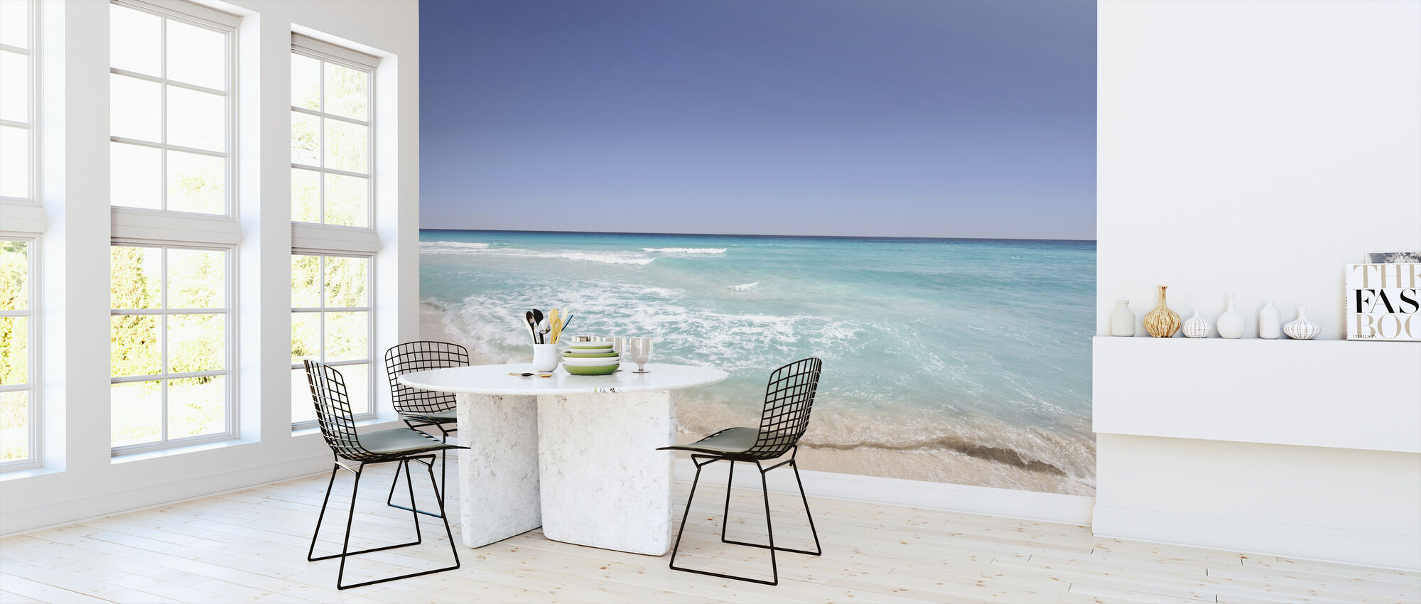 Beach Shore - Wallpaper - Kitchen