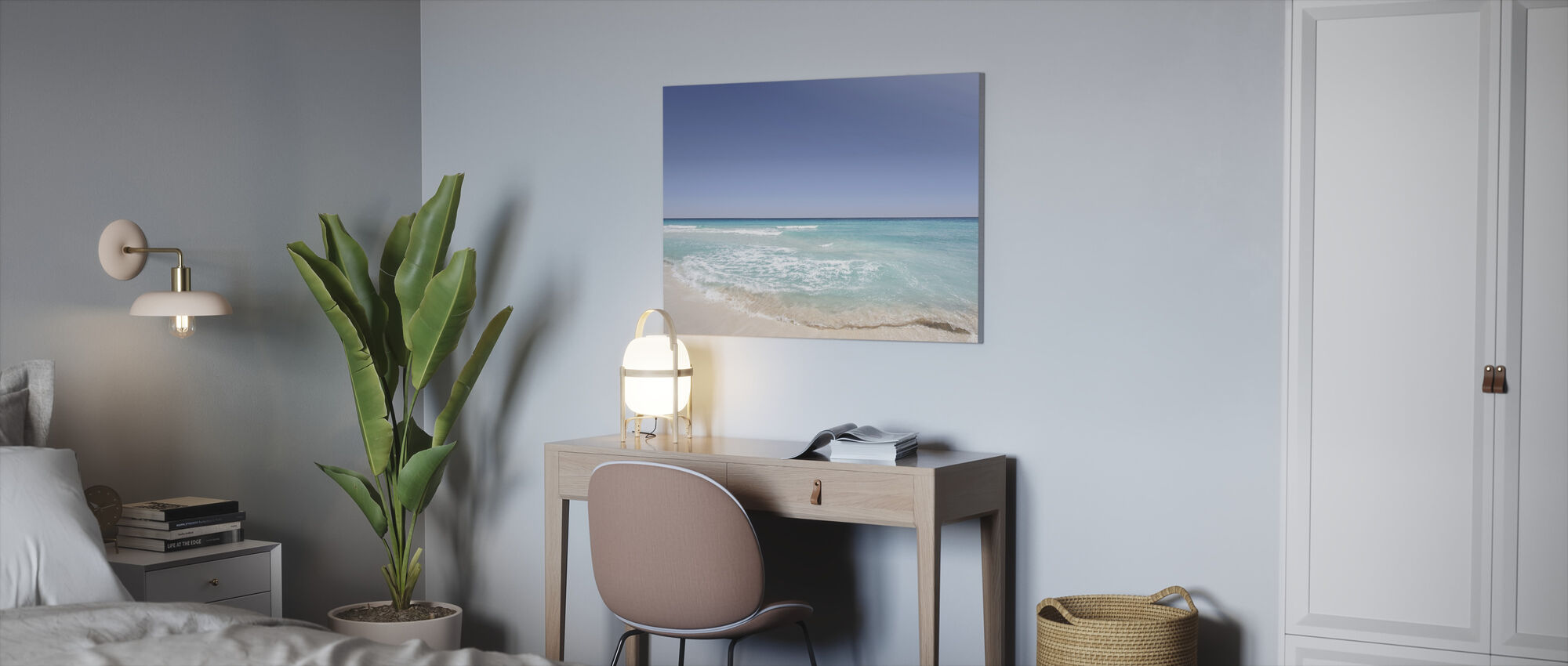 Strand Shore - Lerretsbilde - Kontor