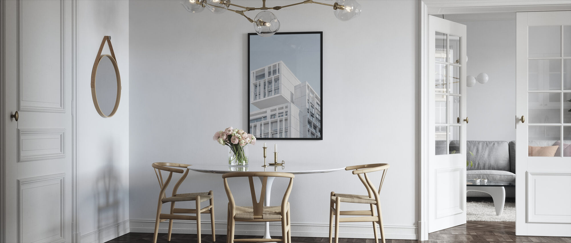 Madrid Building - Framed print - Kitchen