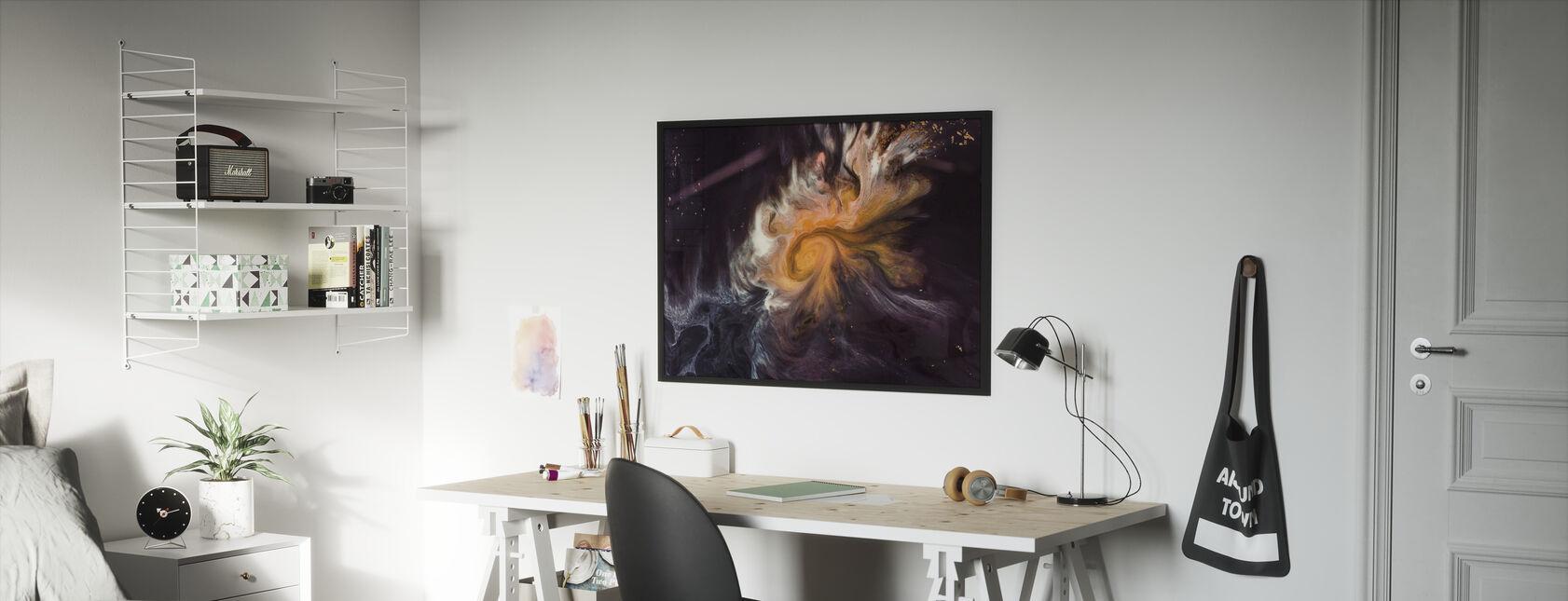 Space Story - Innrammet bilde - Barnerom