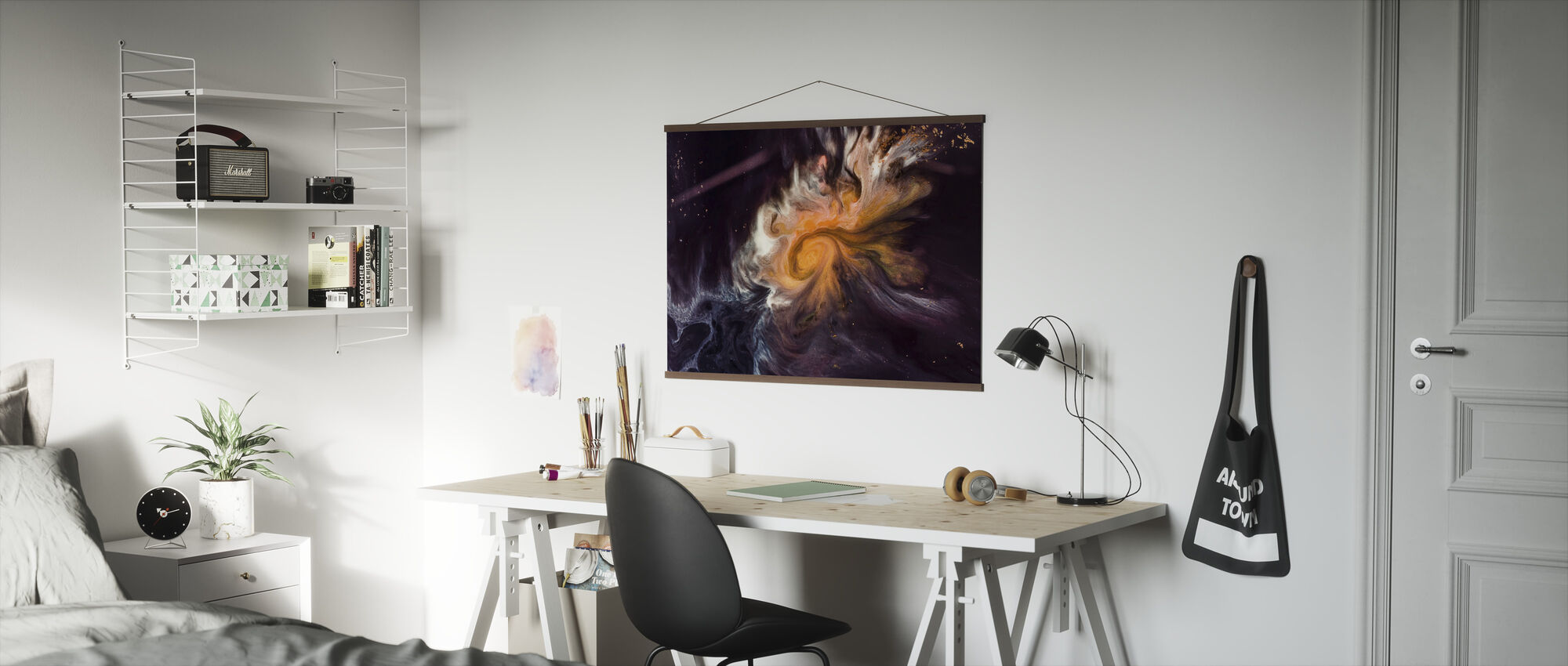 Space Story - Poster - Office