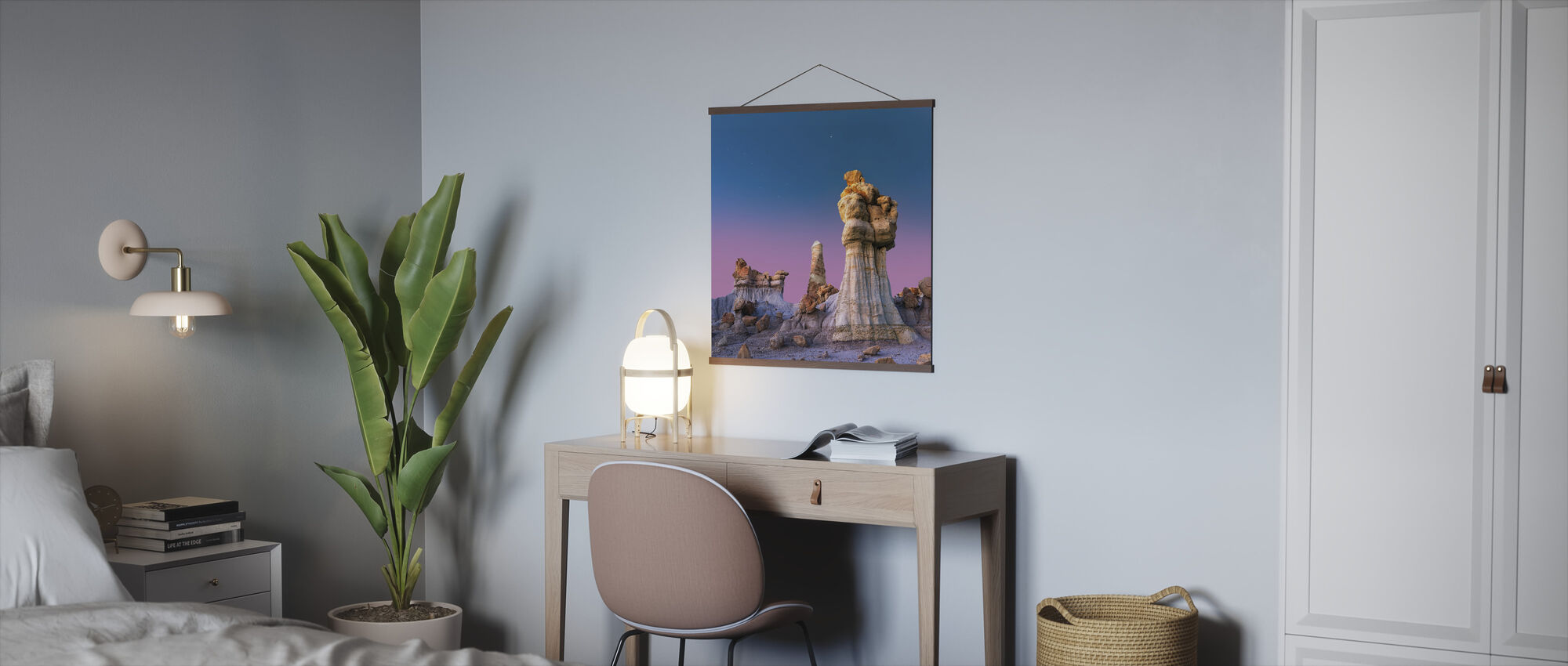 Dusk in the Badland - Poster - Office