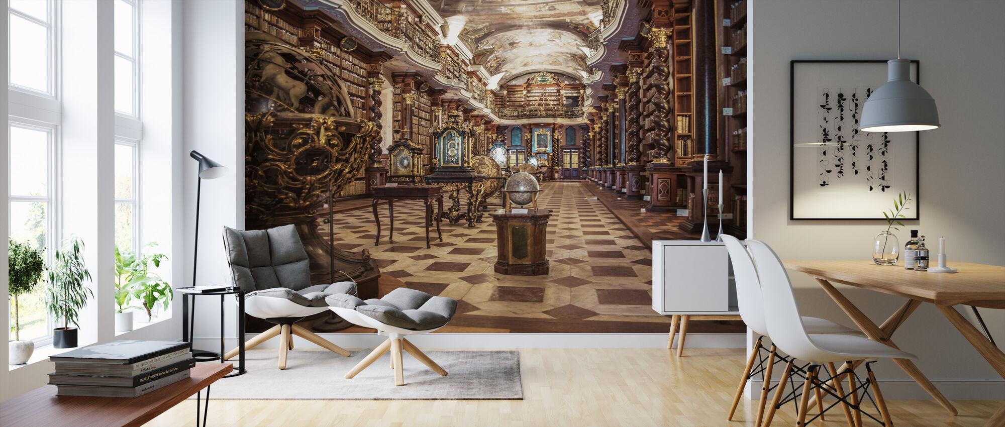Biblioteket för vetenskap - Tapet - Vardagsrum